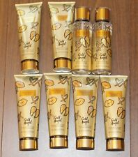 Victoria's Secret Gold Angel Lotion and Fragrance Mist - Lot of 8