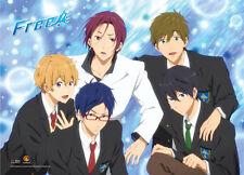 Free! - Iwatobi Swim Club Group Blue BG Wall Scroll Poster NEW