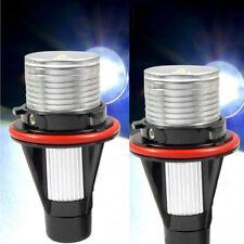 For BMW Angel Eyes Halo White LED Ring Marker Light Bulbs Lamp X5 E39 E60 E63