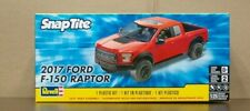 2017 Ford F-150 Raptor Pickup 1:25 scale Revell SnapTite Kit Molded In Red