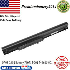 4 Cells Spare 746641-001 Laptop Battery For HP OA03 OA04 740715-001 746458-421
