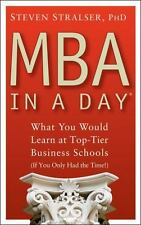 MBA In A Day: What You Would Learn At Top-Tier Business Schools If You Only Had