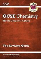 Grade 9-1 Gcse Chemistry: Revision Guide With Online Edition, Paperback by CG...