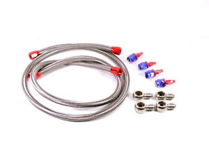 MK1 Starion Conquest Oil Cooler AN6 Braided Line Kit