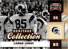 2011 Panini Threads Heritage Collection #11 Lamar Lundy - NM-MT