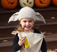 Dobby The House Elf Hat Outfit Costume From Harry Potter Girl /Boy