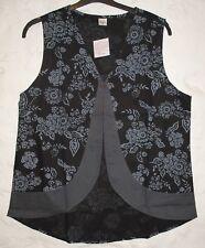 New Fair Trade Waistcoat 18 20 Hippy Boho Ethnic Ethical Festival Nepal