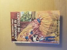 The Bobbsey Twins Adventure in the Country by Laura Lee Hope 1980 Hardcover GC