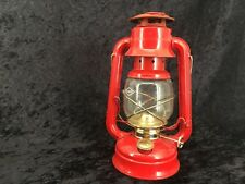 Red V & O No. 78 Oil Lamp 10""