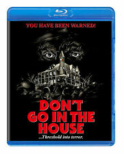 DON'T GO IN THE HOUSE (1980) Blu-Ray CODE RED *UNCUT SLASHER Gore *RARE *SEALED