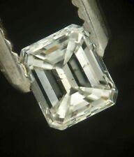 "Superb 0.26 carat EMERALD cut  diamond ""H"" SI-2"