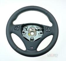 BMW custom thick steering wheel + leather M trim E90 E92 E93 E87 E82 E88 E81 X1