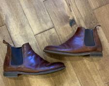 Ralph Lauren Vacchetta Leather Chelsea Boot