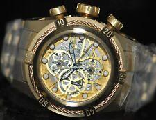 Invicta Mens Rare Bolt Swiss Reserve Automatic Chrono Skeleton Dial Watch 12763