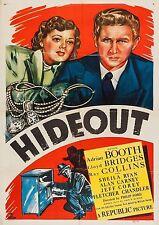 Hideout (Crime '49) Lloyd Bridges, Lorna Gray, Ray Collins, Sheila Ryan.