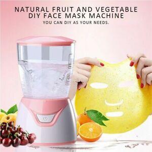 DIY Vegetable Fruit Natural Collagen Face Mask Maker Machine Facial Skin Care