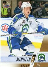 17/18 UPPER DECK CHL #145 ARTYOM MINULIN SWIFT CURRENT BRONCOS *48681