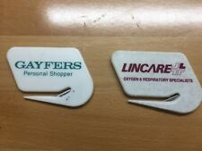 Collectible Letter Openers Gayfers and Lincare