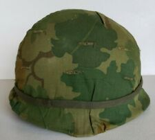 Military Comat Hard Hat Camo Vintage