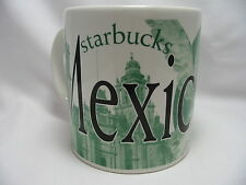 Starbucks Collector Mexico City Coffee Mug Cup 20 oz Java Series Green 2006