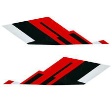 Sea Doo 230 Wake 430 / 520 Black / White / Red Boat Graphic Decals (Set Of 2)