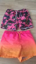 New listing ~Mens Swimming Shorts Size Small Teen Boys MATALAN PRIMARK ExcCond~
