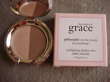 PHILOSOPHY THE COLOR OF GRACE EYELIGHTING SHADOW DUO: #01 HEAVEN/EARTH