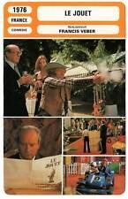 FICHE CINEMA : LE JOUET - Richard,BouquetJugnot,Veber 1976 The Toy