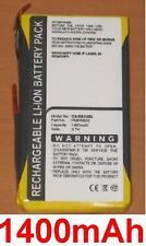 Batterie 1400mAh type BA20203R60800 PMP-CRE03 Pour Creative Nomad Jukebox Zen