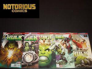 Incredible Hulk 709 710 711 712 713 Complete Return to Planet Hulk EXCELSIOR BIN
