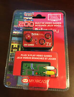 Video Game Controller Console Tv Plug and Play with 200 Built In Retro Games