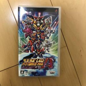 PSP Super Robot Taisen A Portable  4582224499038