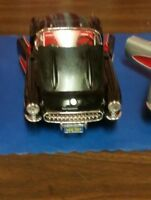 MODEL CAR BLACK 1957 DIE-CAST CHEVROLET CONVERTIBLE CORVETTE BURAGO 1:18 SCALE