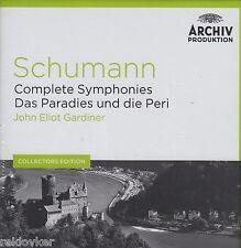 Sämtliche Sinfonien / Das Paradies und die Peri - E. Gardiner (5 CDs, NEU! OVP)