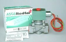 "ASCO Red Hat Solenoid Valve 8215G030 3/4"" NPT 120V. Fuel Gas Inert Gas Air 4KY42"