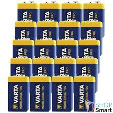 Varta 4022 20x Industrial 9V Block Batterie 9V 6LP3146 ALKALINE LONGLIFE POWER