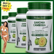 GARCINIA CAMBOGIA 95%HCA Carb Fat Burner Capsule Diet Lose Weight Loss Fast Pill