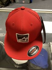 Alpinestars Hat Cap  Color Red, Size S/M Flexfit