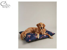 Joules Navy Floral Print Mattress Soft Dog Pet Bed All Sizes FREE Delivery