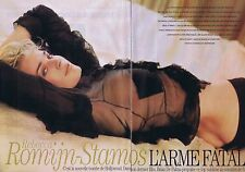 Coupure de presse Clipping 2002 Rebecca Romijn-Stamos (6 pages)