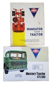 AEC lorry sales brochures - Mandator and Mercury - great collectors item