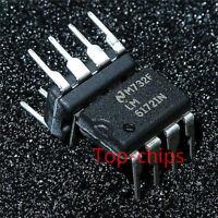 (1PCS) LM6172IN IC AMP DUAL HI SPD LP V FB 8-DIP 6172 LM6172