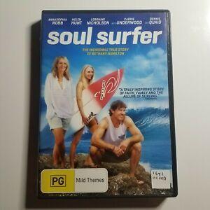 Soul Surfer | DVD Movie | Family/Drama | Bethany Hamilton, AnnaSophia Robb| PAL