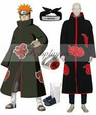 Naruto Akatsuki Pain (Pein) Deluxe Cosplay Costume Set E001