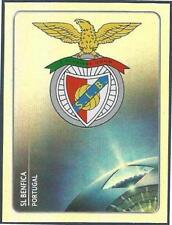 PANINI UEFA CHAMPIONS LEAGUE 2011-12- #158-BENFICA TEAM BADGE-SILVER FOIL