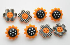 Country Sunshine ~ Sunflower Buttons / Dress It Up Buttons Jesse James #9378