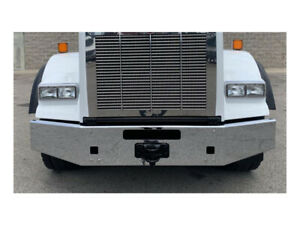 "Kenworth T800 Chrome 15"" Bumper Tapered Break Back 2004 & Newer # P16342"