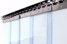 PVC Strip Curtain Door Strips 1,5 Meter Wide x 2 Meter Drop Coldroom Chiller