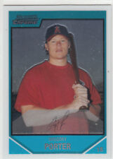 GREGORY PORTER 2007 BOWMAN CHROME RC #BC112 LOS ANGELES ANGELS