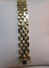 14k Pure Gold Designer Bracelet, 7in.L.  SALE-SAVE $2,500    #794